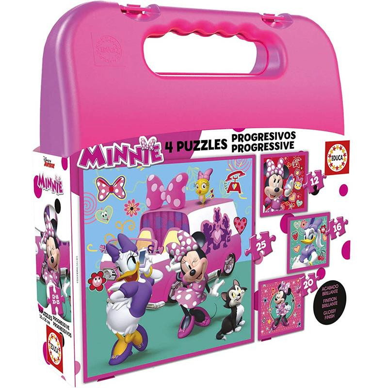 Educa puzzle Mala Progressivos Minnie