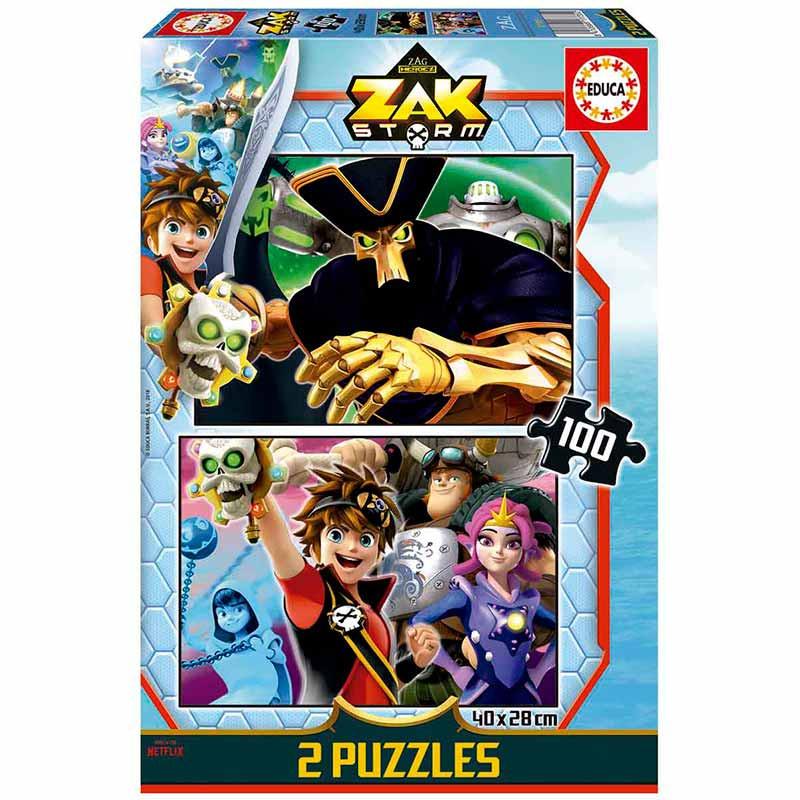Educa puzzle Zak Storm