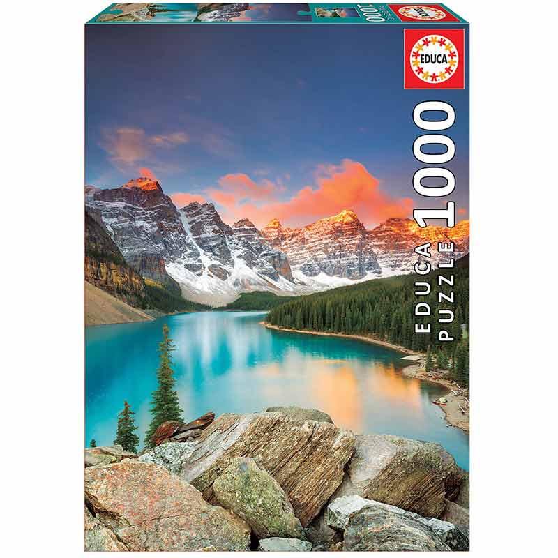 1000 Lago Moraine, Banff National Park, Canadá