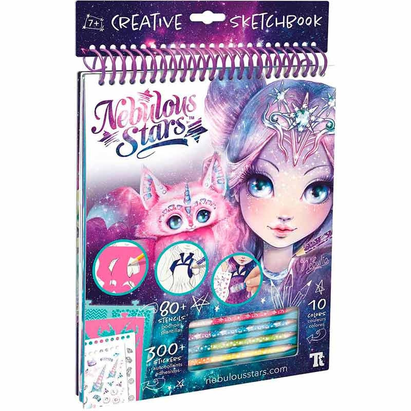 Cadernos criativos educa nebulous stars nebulia