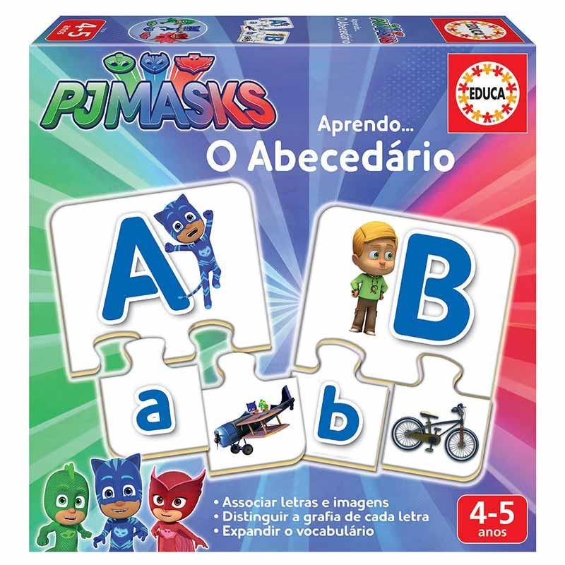 O abecedario PjMasks