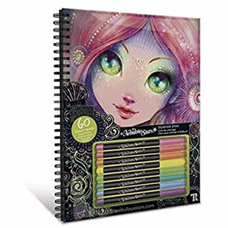 Educa Nebulous cadernos para colorir Coralia