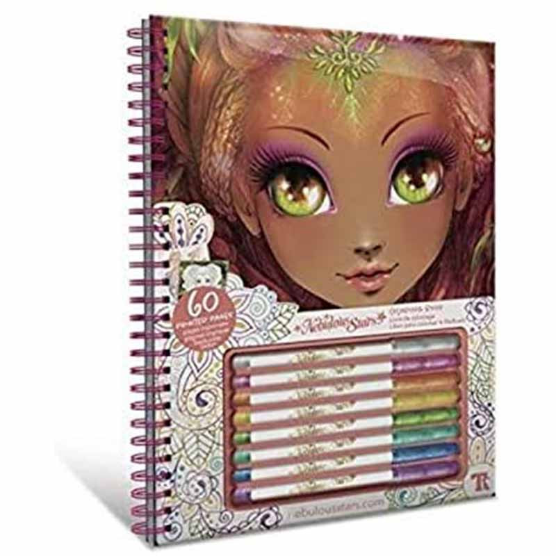 Educa Nebulous cadernos para colorir Hazelia