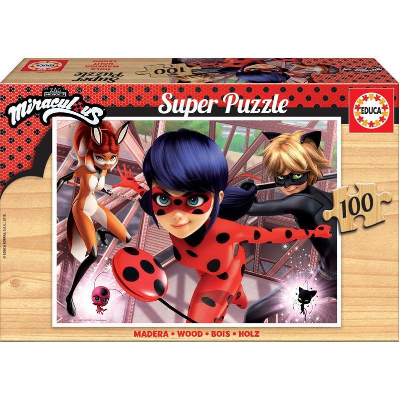 Educa Puzzle Madeira 100 Ladybug