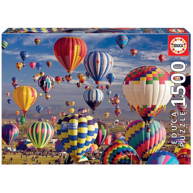 Educa Puzzle 1500 balões aeroestáticos