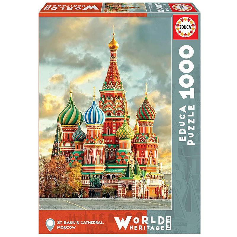 Educa Puzzle 1000 catedral San Basílio Moscou