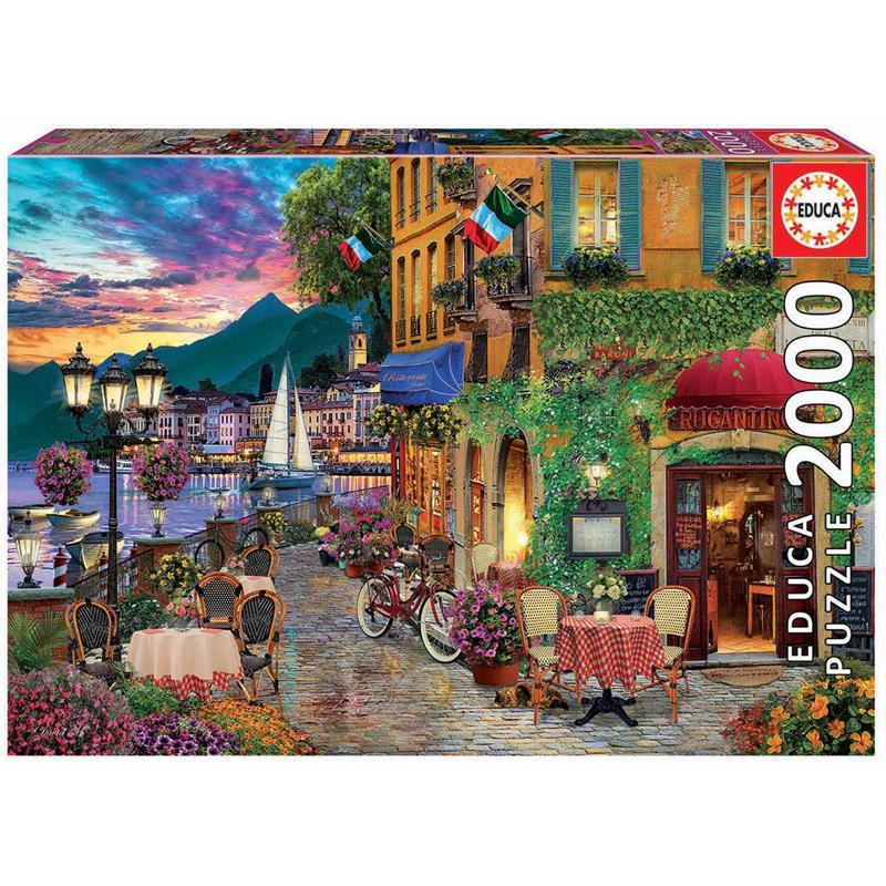 Educa Puzzle 2000 Italian Fascino