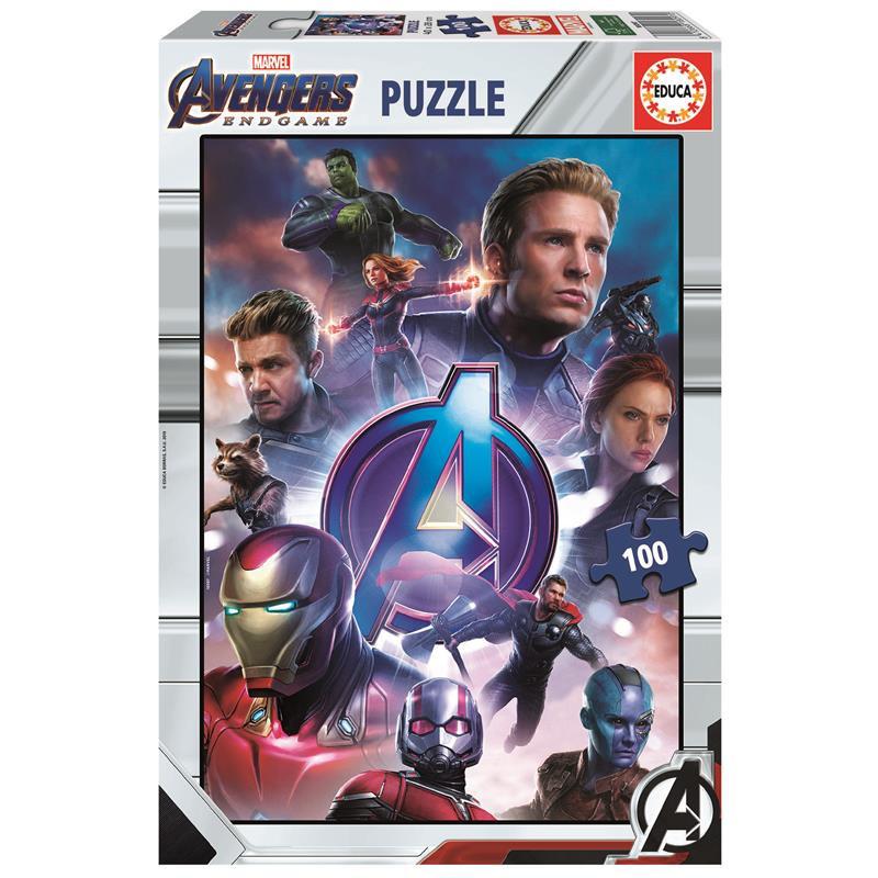 Educa puzzle 100 Avengers Endgame*