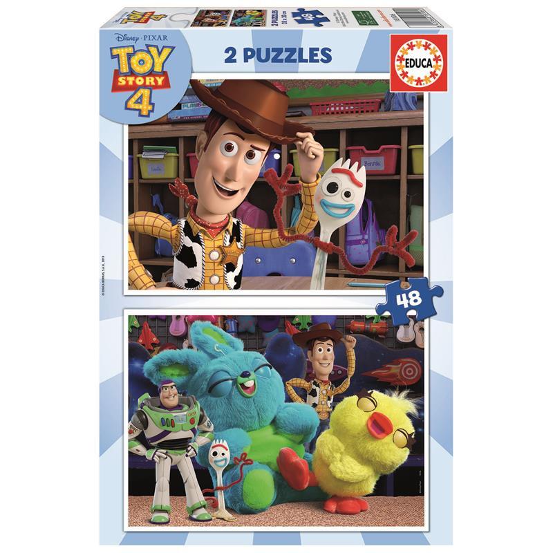 Educa puzzle 2x48 Toy Story 4