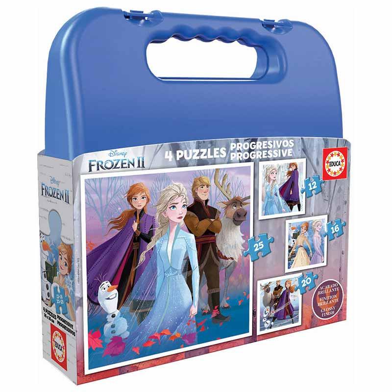 Educa puzzle mala progressivo Frozen II