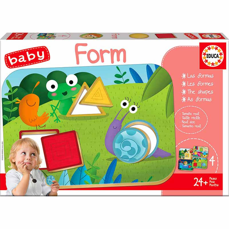 Educa Baby formas BABY