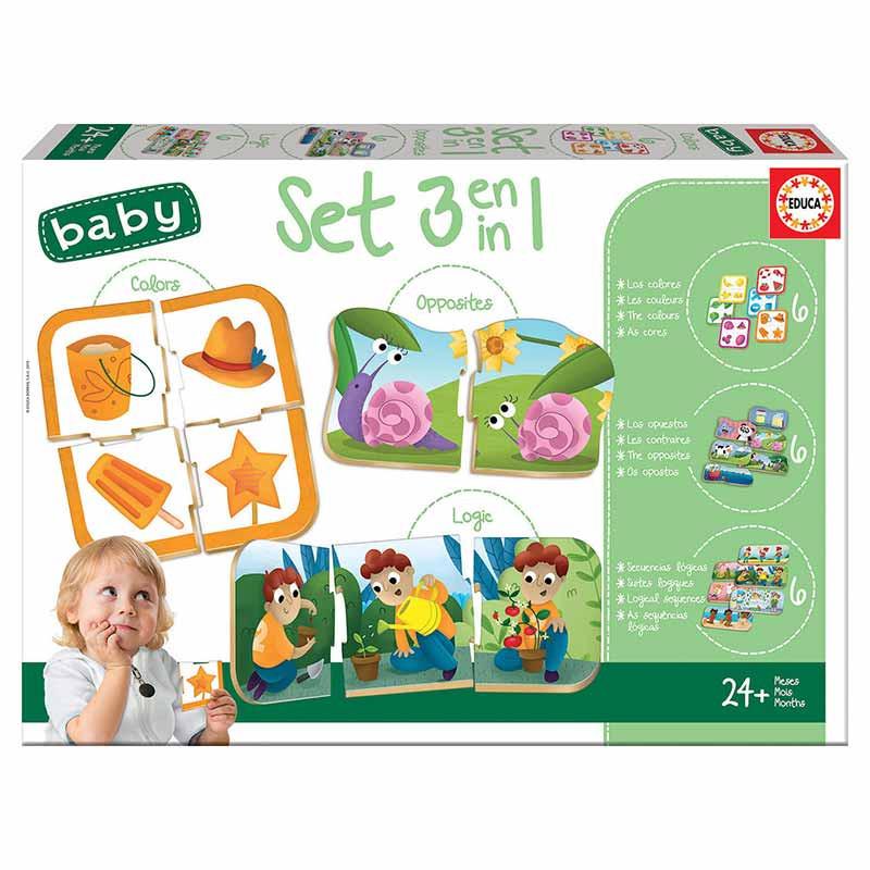 Educa Baby set baby 3 em 1