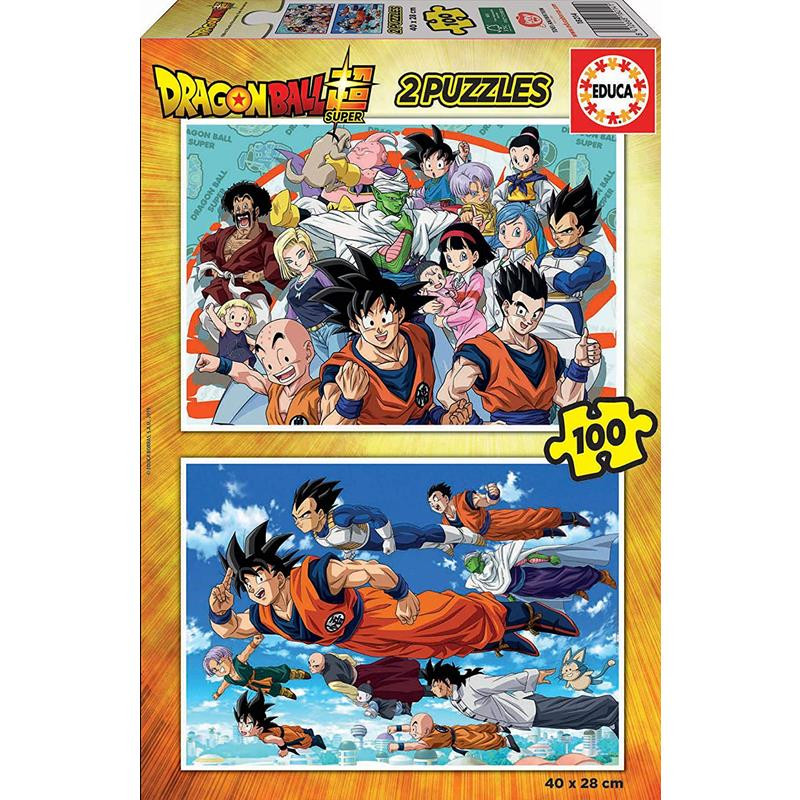Educa Puzzle 2x100 Dragon Ball