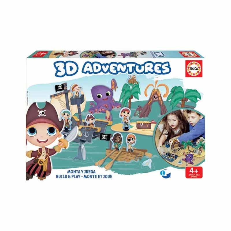 Educa 3D aventuras piratas