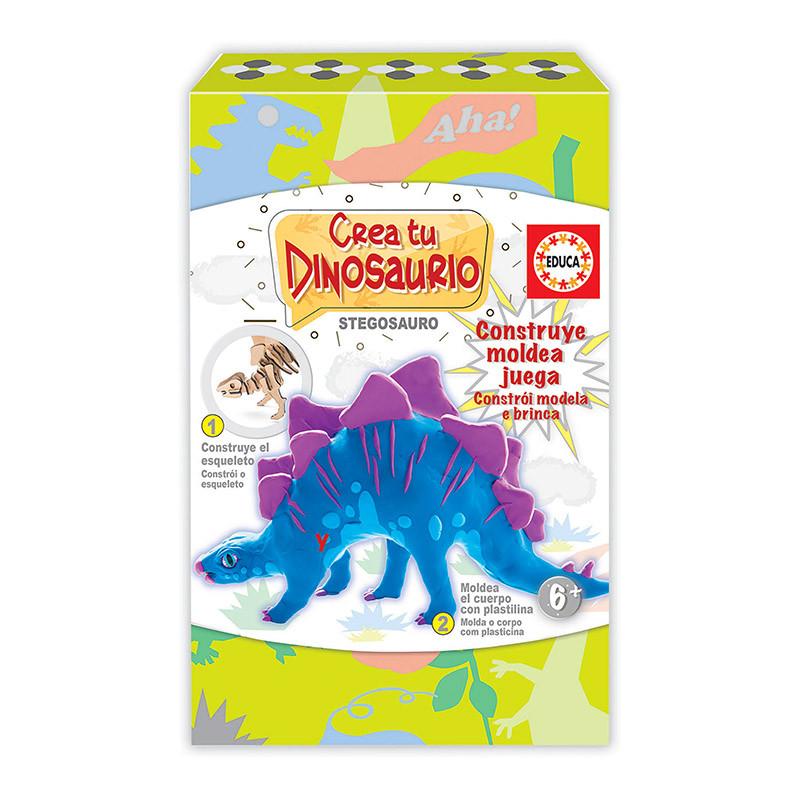 Educa Cria e modela o teu Stegosauro