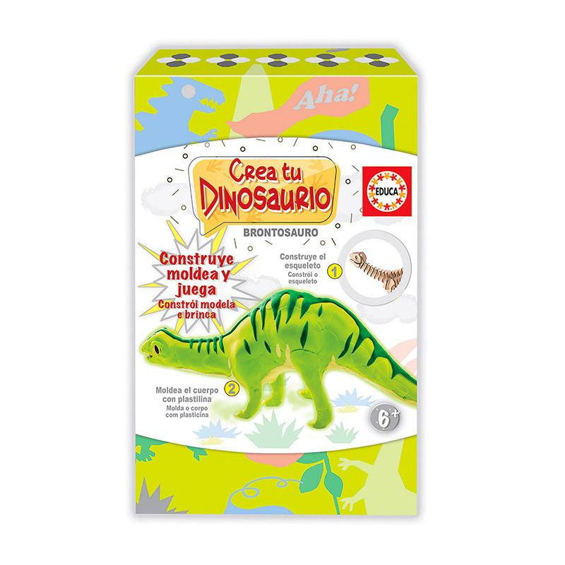 Educa Cria e modela o teu Brontosauro