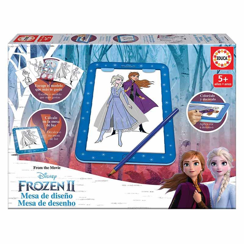 Educa mesa de desenho Frozen II