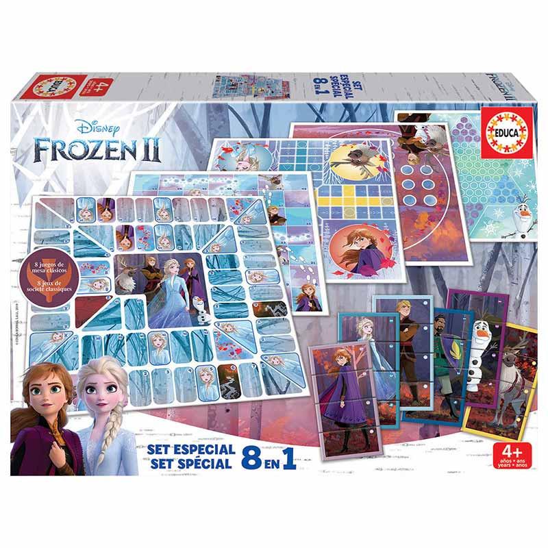 Educa 8 em 1 Frozen