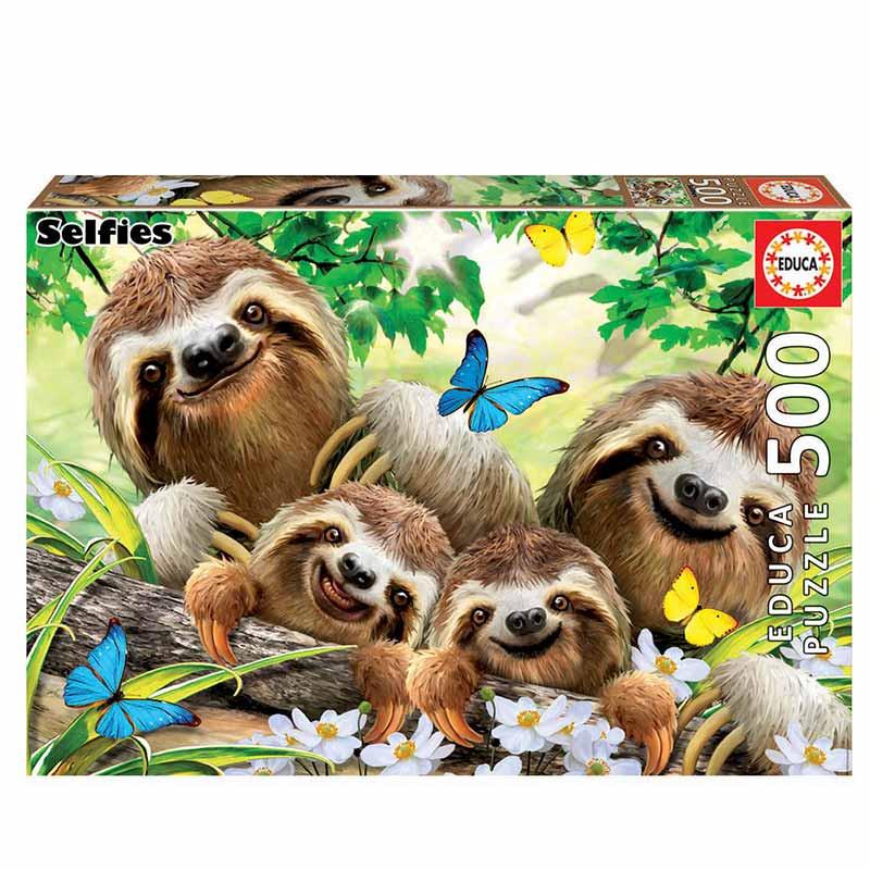 500 Família de preguiças