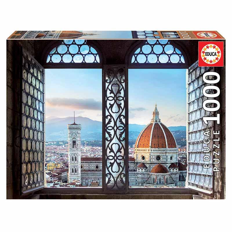 Educa puzzle 1000 vistas de Florença