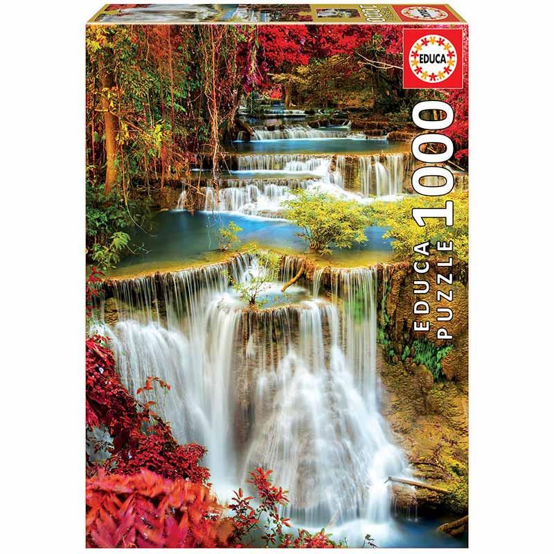 1000 Catarata no bosque