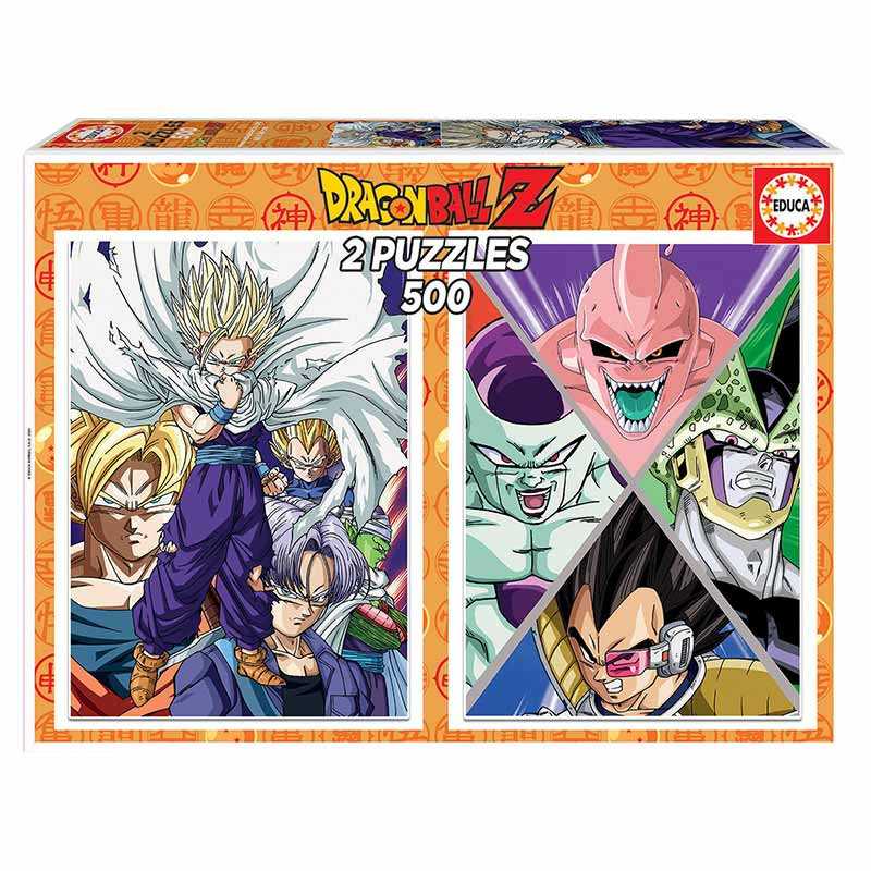Educa puzzle 2X500 Dragon Ball