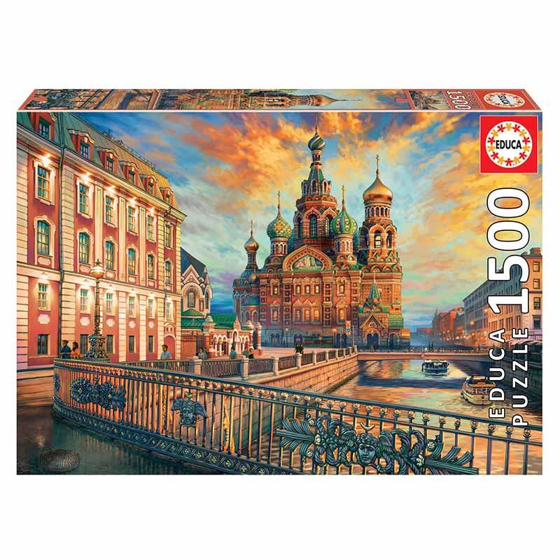Educa puzzle 1500 São Petersburgo