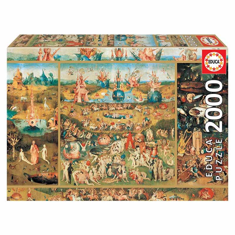 Educa puzzle 2000 o jardim das delícias