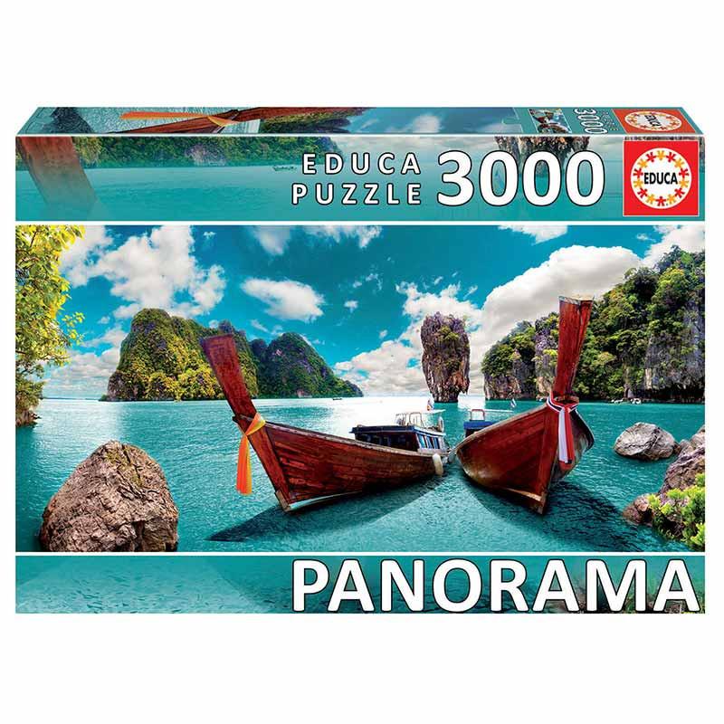 Educa puzzle 3000 Phuket Tailandia panorama
