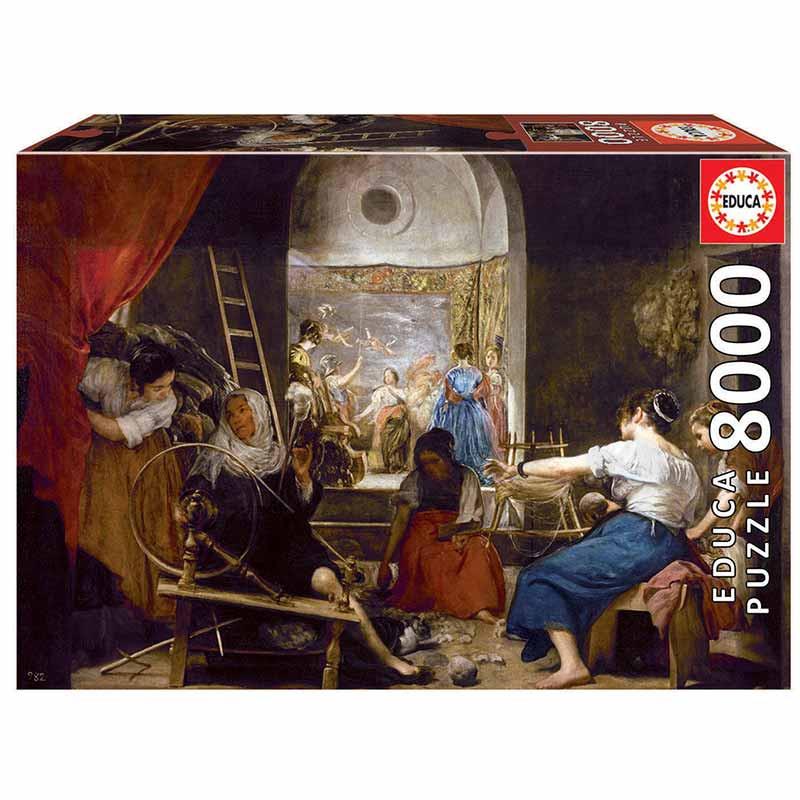 8000 As Fiandeiras ou O mito de Aracne, Diego Velá