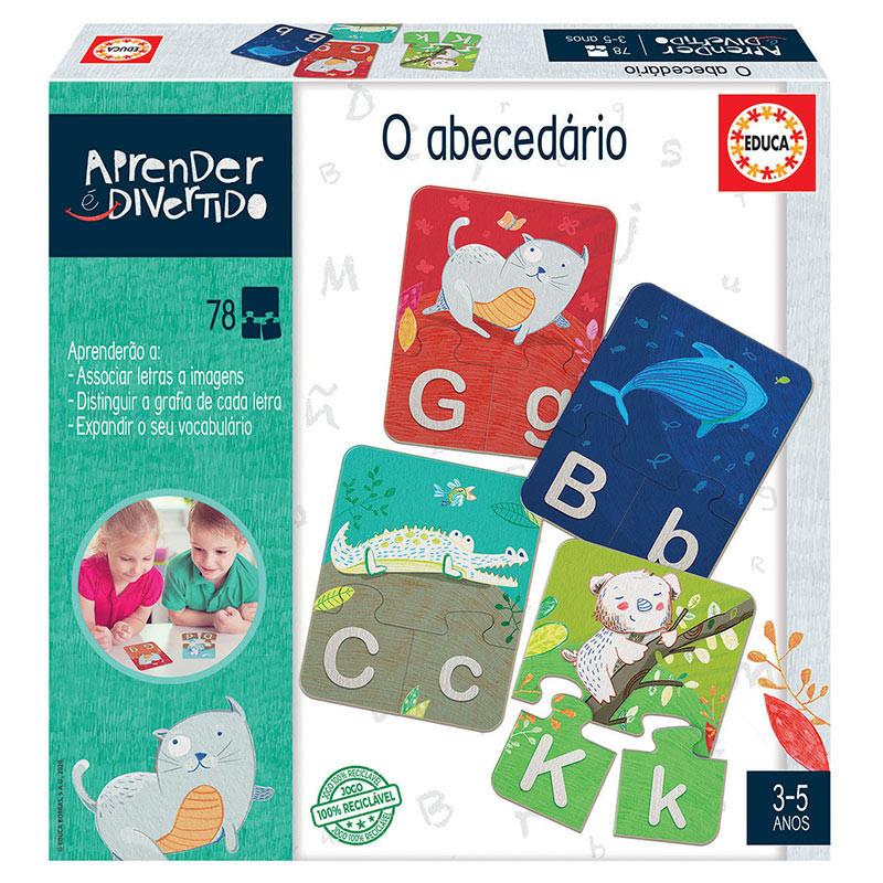 Aprender é divertido o abecedario