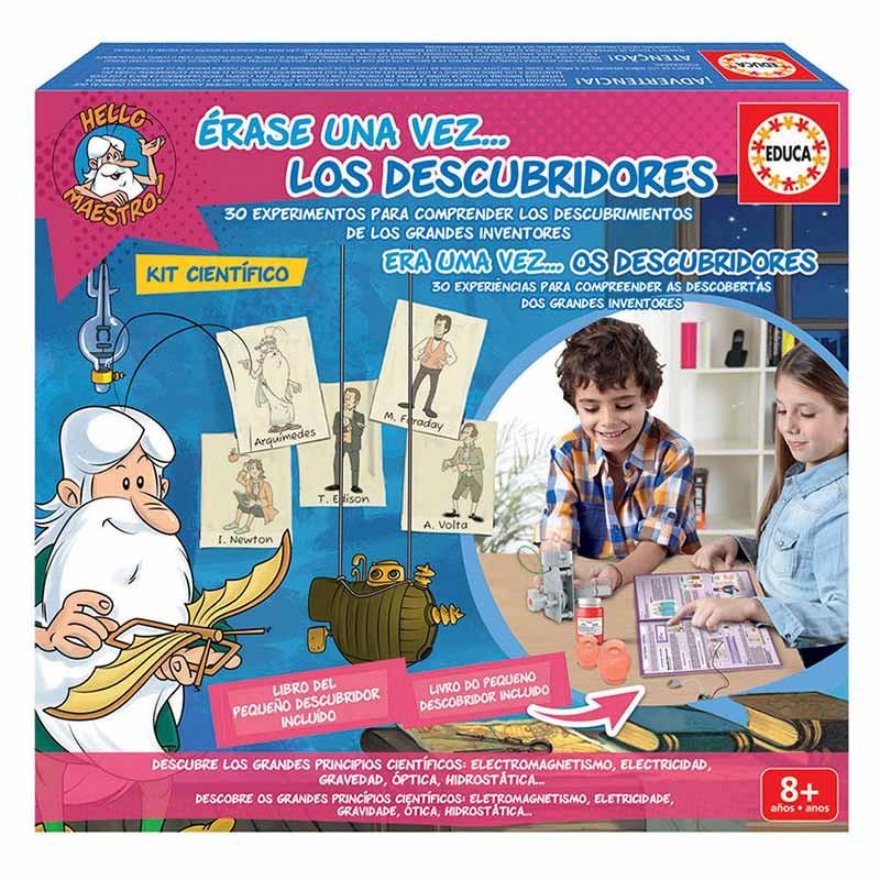 Kit científico Era uma vez … Os descubridores
