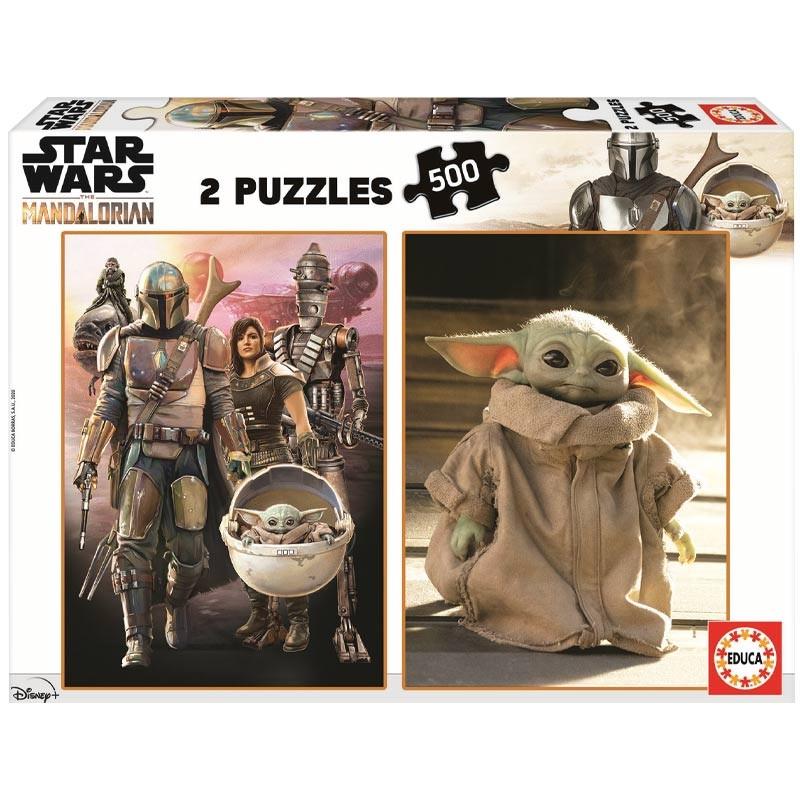 Educa puzzle The Mandalorian 2x500