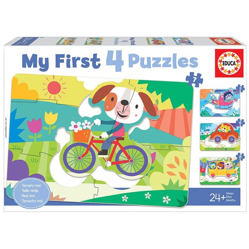 Veículos My First Puzzle