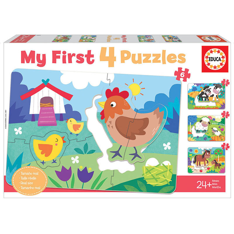 Mamas e Bebês My First Puzzle