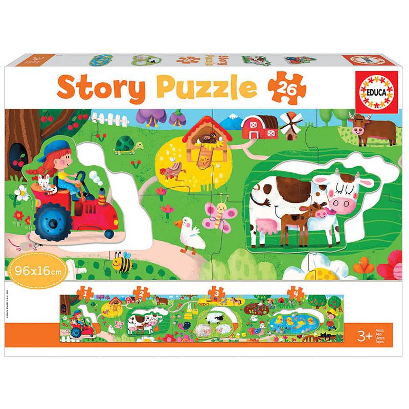 Educa a quinta Story puzzle 26 peças
