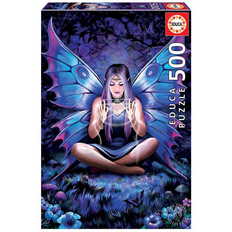 Educa puzzle 500 tesoura de feitiços Anne Stokes