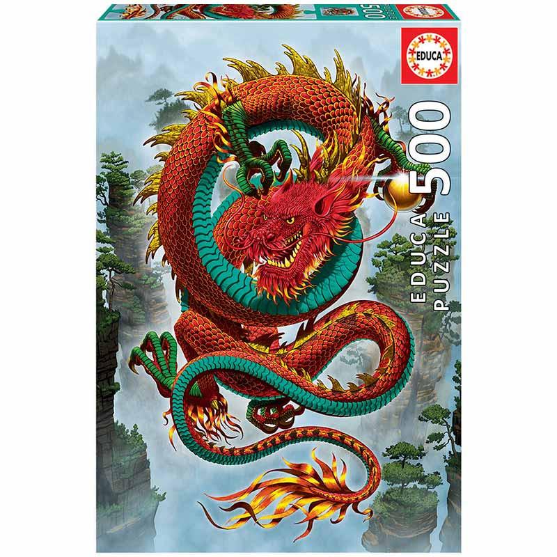 Educa puzzle 500 dragão da boa fortuna
