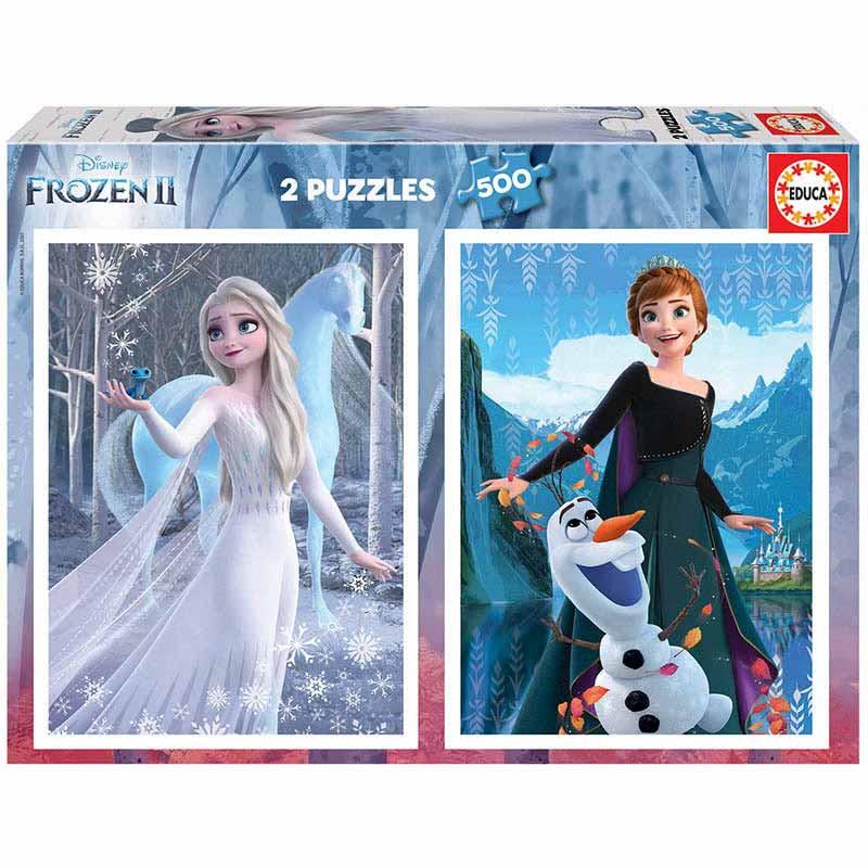 Educa Puzzle 2x500 Frozen II