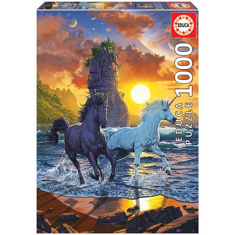 1000 Unicorns on the Beach
