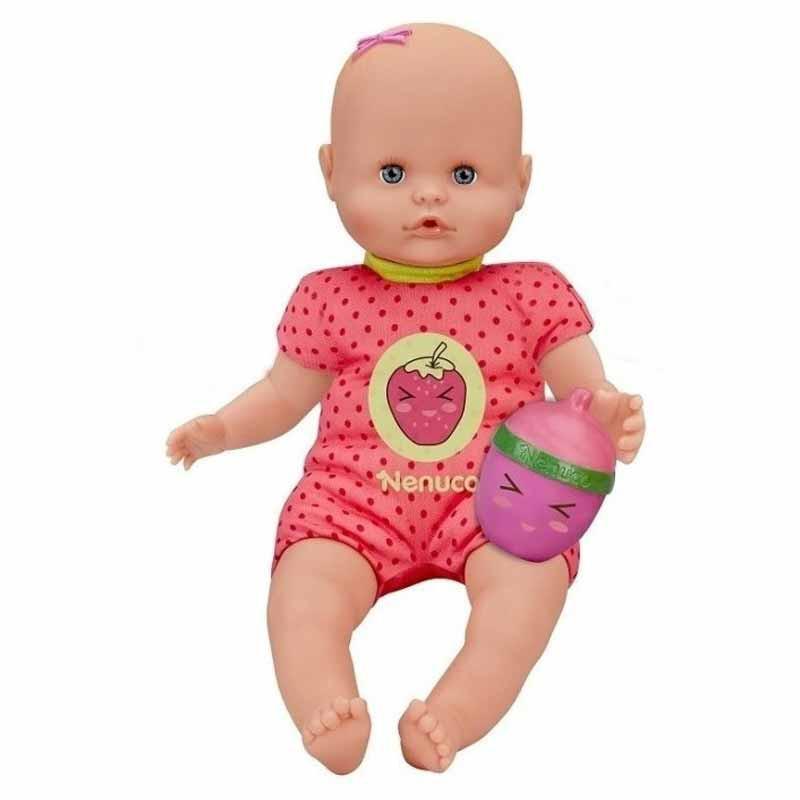 Nenuco Com Biberão Guizo rosa