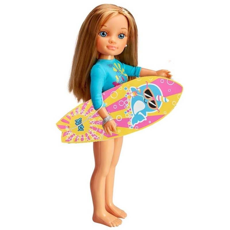 Nancy um dia de Surf