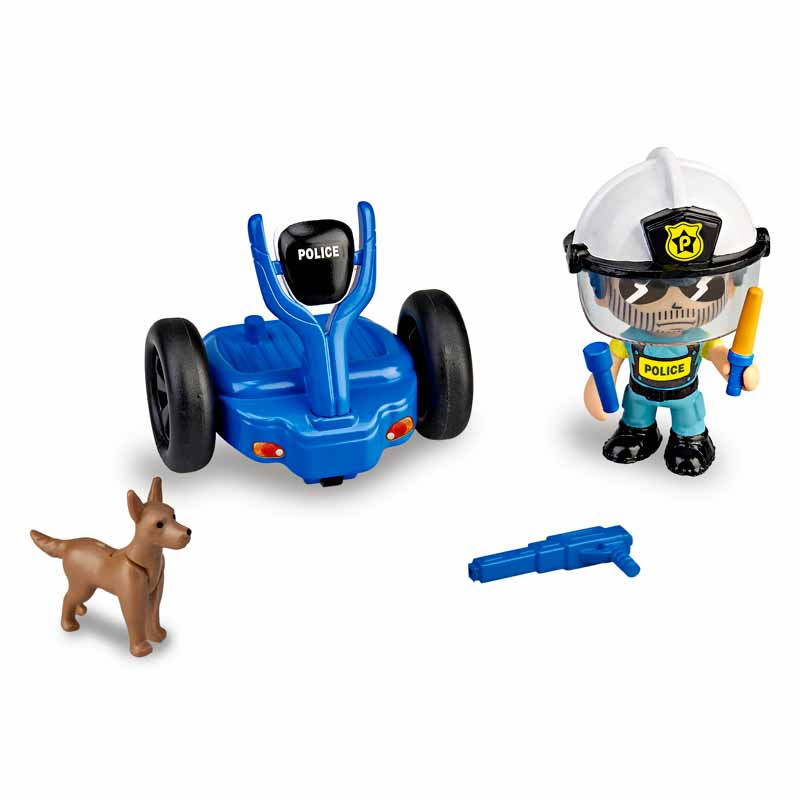 Pinypon Action policia com segway