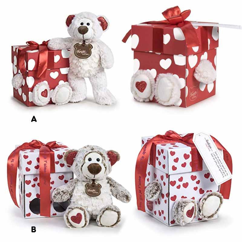 Caixinha Happy Valentim com ursinho