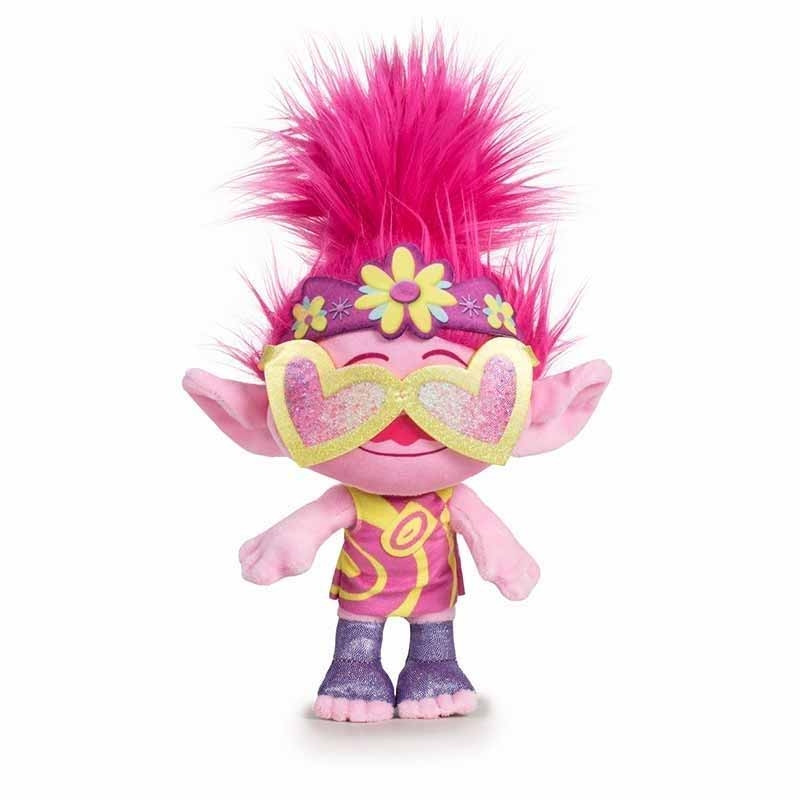 Peluche Trolls 2 18 cm - Poppy Pop Star