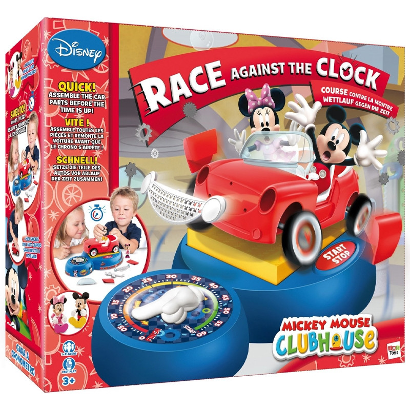 Jogo Mickey corrida contra o relógio
