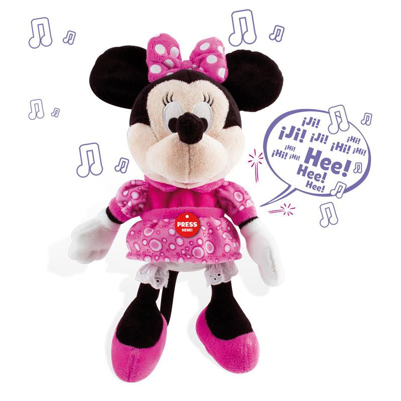 Minnie peluche interativo happy sounds