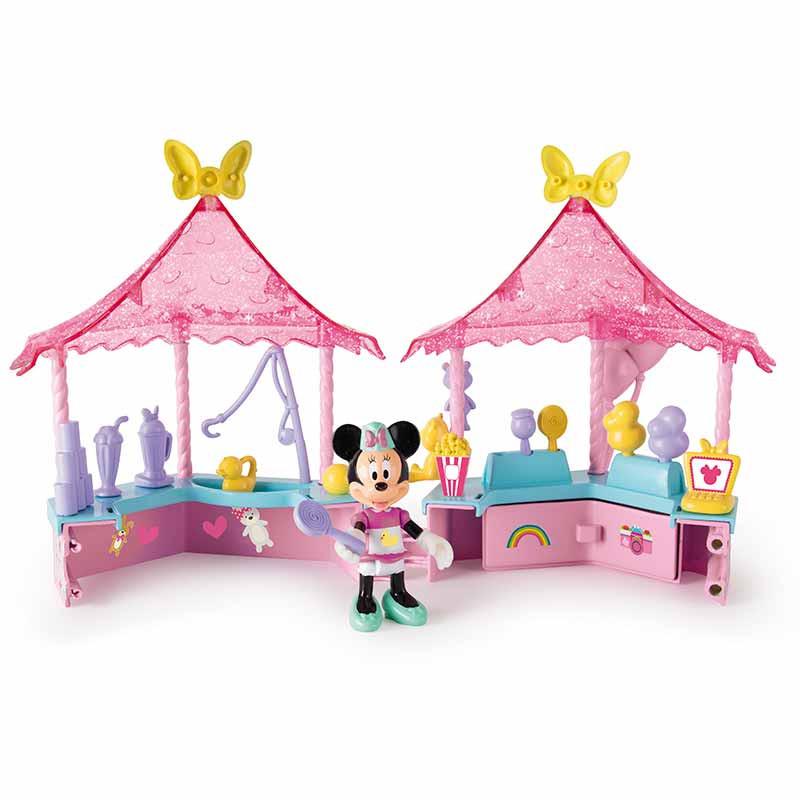 Quiosque feira de diversão de Minnie