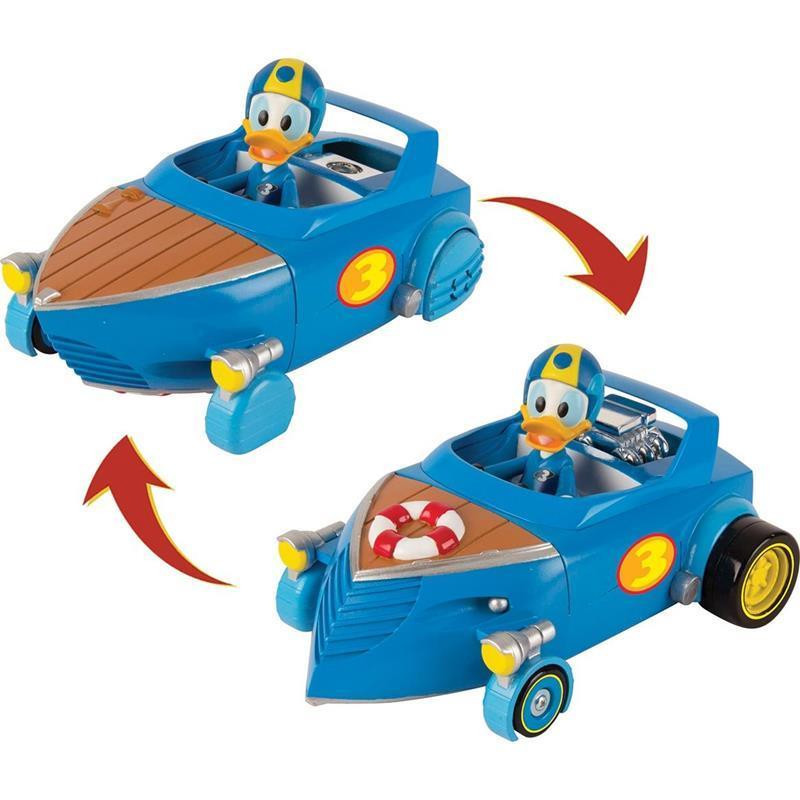 Carro do Donald Transformável