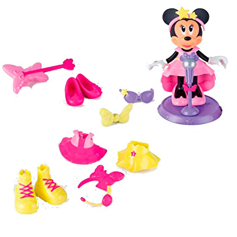 Minnie Mouse Fashion Dolls Pop Star